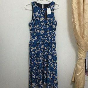 Floral dress sleeveless NWT
